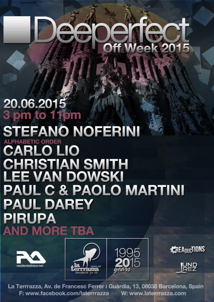 Deeperfect Open Air Event At Off Week 2015 At La Terrrazza