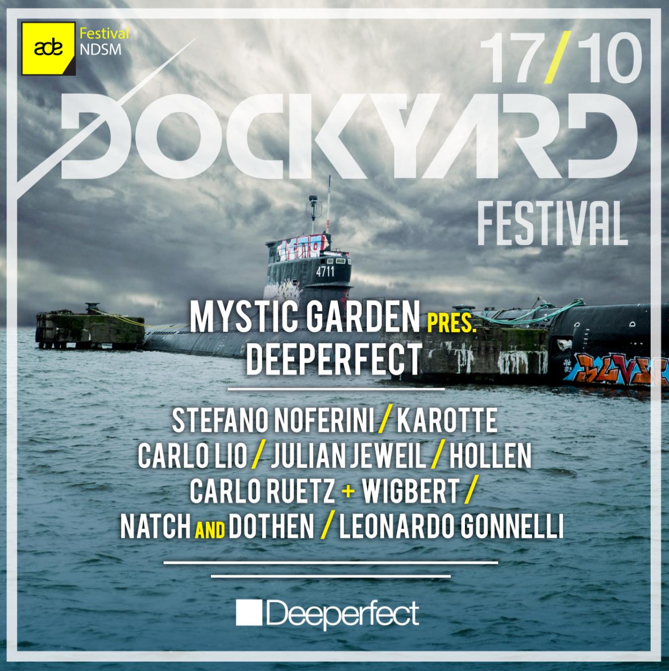 Deeperfect Stage at Dockyard 2015 CORRETTA